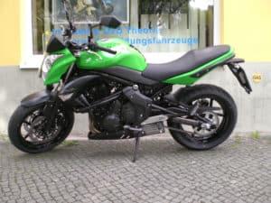 Kawasaki Fahrschulmotorrad